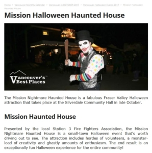 Mission Haunted House Sponsors|Supporters